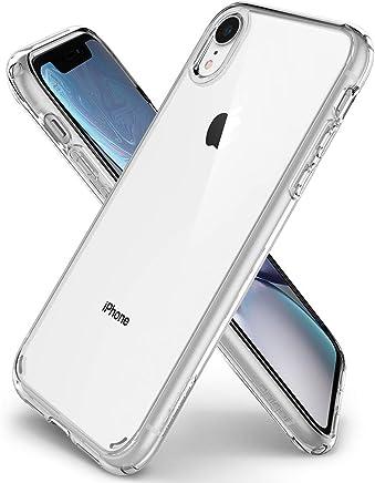 spigen Funda iPhone XR, [Ultra Hybrid] Tecnología de cojín de Aire y protección híbrida de la caída - [Transparente] 064CS24873