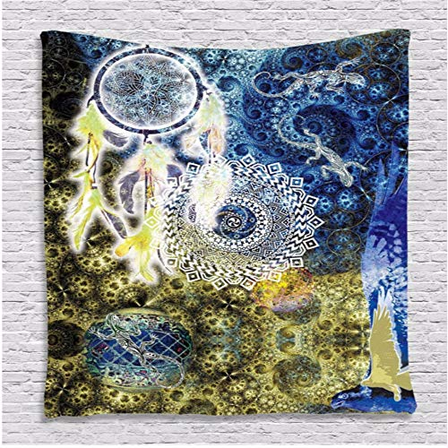 Djkaa Dream pattern decorative tapestry colorful blanket Wall Hanging Mandala...