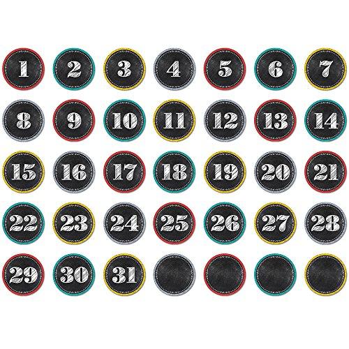 magnetic calendar numbers - 7