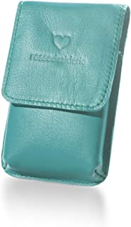 Portasigarette Slim Tiffany in Vera Pelle Custodia per Pacchetto di Sigarette Sottili
