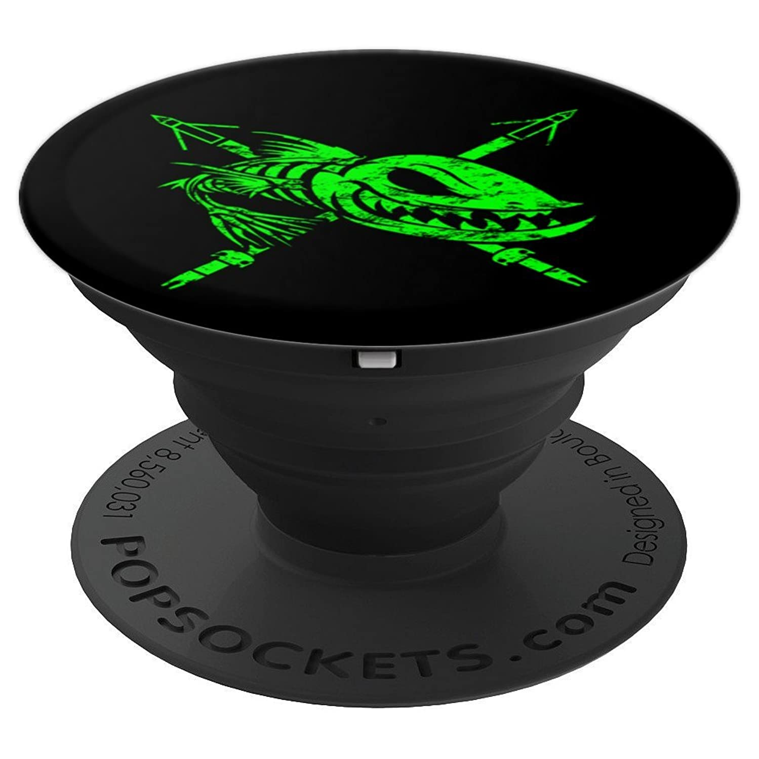 Bow Fishing - Bow Fisherman Shirts and Gifts - PopSockets Grip and Stand for Phones and Tablets
