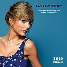 Taylor Swift CALENDARIO 2022: UFFICIALE Taylor Swift Calendario 2022 (8.5x8.5 pollici di grandi dimensioni) 16 mesi Calend...