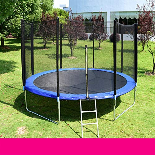 NEWRX Home Children Indoor Commercial Outdoor Adult Large Bungee Jumping Bed With Guard Net Trampoline (Color : 6 inch diameter)