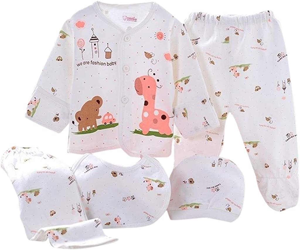 Short Pant 2Pcs Outfits Toddler Clothes Sets,HimTak Boys Girls Cartoon Print Short Sleeve Tops