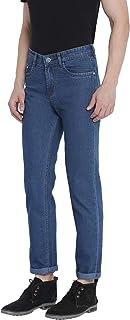 0-Degree Men's Skinny Fit Jeans