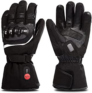 SAVIOR HEAT Heated Gloves for Men&Women, Electric Heated Gloves for Cycling Motorcycle