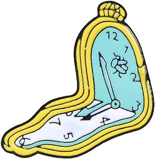 DC CLOUD Spille Vintage Spilla Donna Uomo in Lega Creativa di Moda Distintivo Badge Denim Smaltata Gioielli con Colletto P...