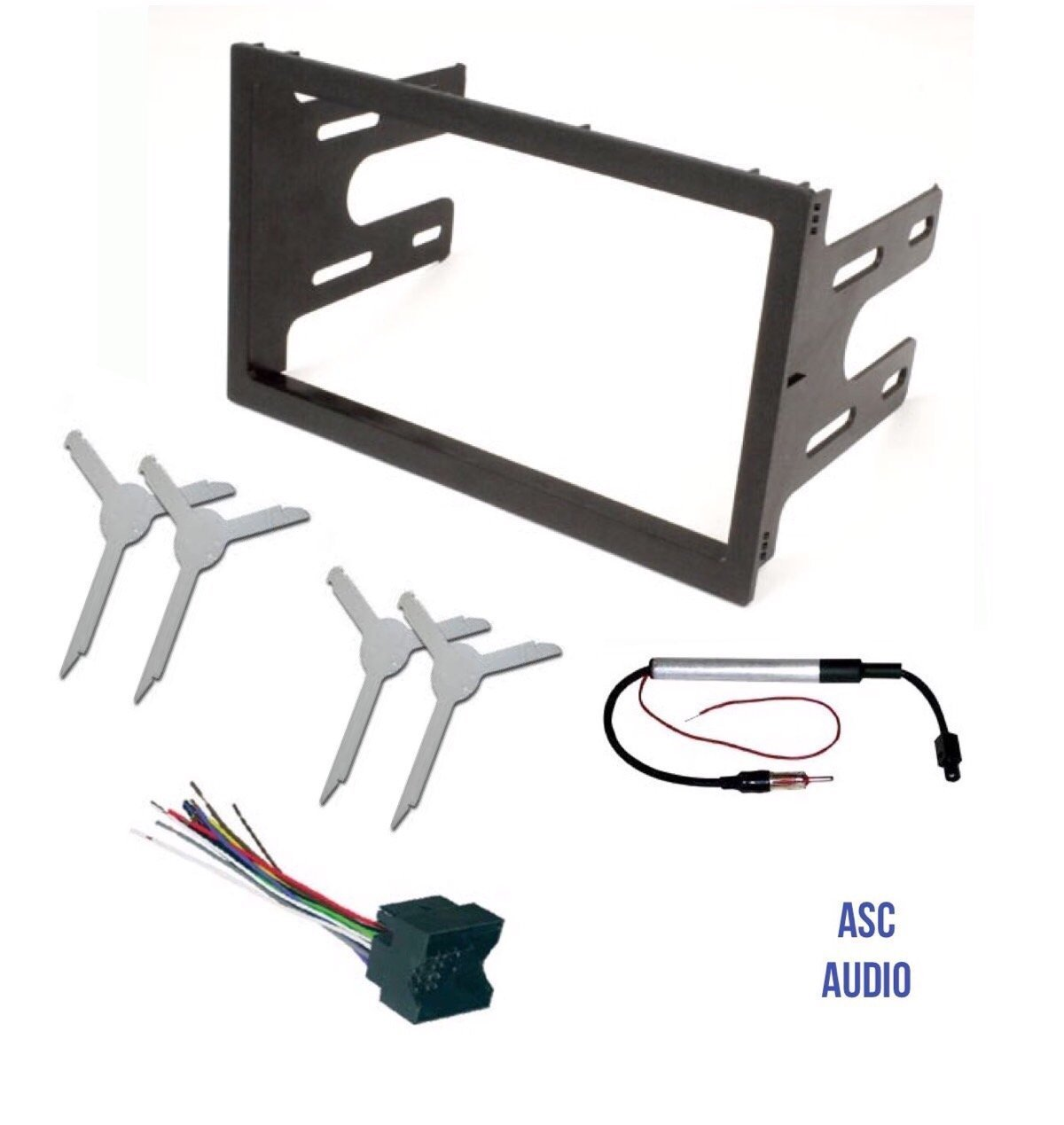 Compatible Vehicles Listed Below Other ASC Audio Car Stereo Radio Wire Harness Plug and Antenna Adapter for some Chevrolet and Pontiac Vehicles