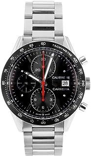 [タグホイヤー]腕時計 CV201AK.BA0727 カレラ キャリバー16 クロノグラフ SSブレス ブラック文字盤[中古品] [並行輸入品]