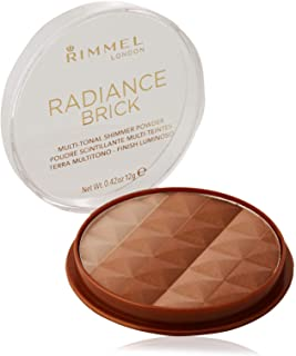comprar comparacion Rimmel Number 001 Radiance Brick - Polvos bronceadores, 12g