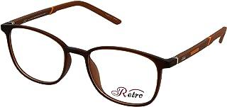 RETRO Unisex-adult Spectacle Frames Square 3010 M.Brown
