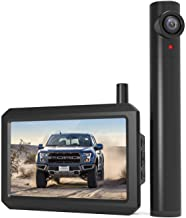 AUTO-VOX TW1 Truly Wireless Backup camera, 5Mins DIY Installation, 720P Super Night Vision Rear View Camera and 5'' LCD Mo...