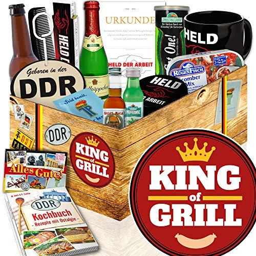 King of Grill - Geschenke für Männer grillen - DDR Männer Artikel
