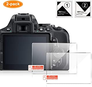 LCD Screen Protector Compatible for Canon EOS 80D 70D Pack UTEBIT Elec...
