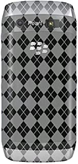 Amzer Luxe Argyle Skin Case for BlackBerry Pearl 3G 9100 - Clear