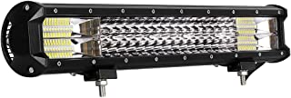LED Light Bar Amses 21 Inch 288W Triple Row Spot Flood Combo Beam Light Bar Driving Fog Lights LED Work Lights Off Road Lights for Trucks Jeep ATV UTV SUV Pickup 4x4 Boats, 2 Years Warranty