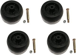 The ROP Shop (4) Heavy Duty Deck Wheels for Electrolux Poulan Husqvarna 532133957 532174873
