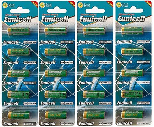 Energy01 Alcaline 23A MN21 20 Batteries Piles 12 V sans Mercure, Pack Multi-économie (A23 / V23GA / LRV08 / 8LR932) conçue pour Les télécommandes, Cloches et systèmes de sécurité (20 Piles)