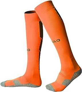 GUUMOR Soccer Socks for Men/Women Adult Knee High Long Compression Sports Football Socks 1 Pack or 4 Pack
