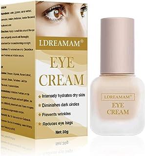 Crema De Ojos - Vegano Cruelty-Free Orgánico - Mejor Natural Antienvejecimiento Crema Tratamiento Contorno de Ojos Para ...