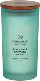 Chesapeake Bay Candle PT31921 Scented Candle, Balance + Harmony (Water Lily Pear), Large