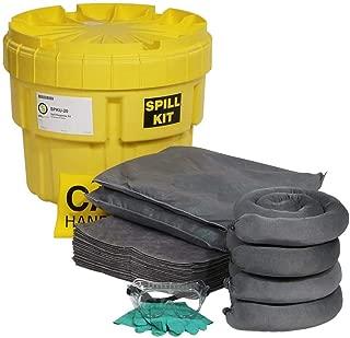 SpillTech Universal Overpack Salvage Drum Spill Kit, 20 Gallon, 43 Pieces (SPKU-20)