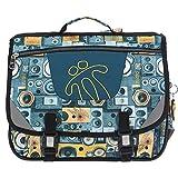 Totto Unisex_Adult MORRAL TIJERAS Daypack, Multi-Coloured (Multi-Coloured), one Size