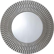 HUIHUOZI Exquisite Goods Wall Mirror Bathroom Mirror Creative Border Mirror Bedroom Vanity Mirror Round Large Mirror Livin...