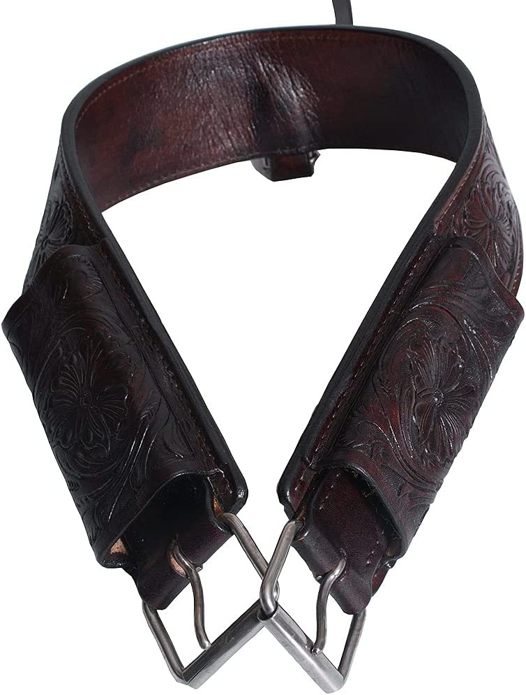 New products world's highest quality popular HILASON Horse Long-awaited Western Leather Back Cinch Girth Rear Flank