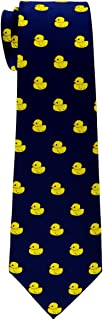 Classic Rubber Duck Woven Microfiber Boy's Tie - 8-10 years - Various Colors