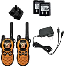 Motorola MT350R FRS Weatherproof Two-Way - 35 Mile Radio Pack - Orange