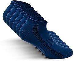 Snocks ® Herren & Damen Sneaker Socken (6x Paar) Lange Haltbarkeit Dank Bester Qualität