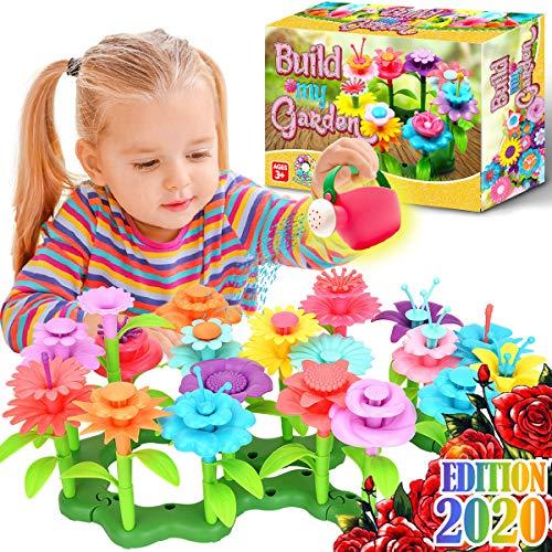 FunzBo Flower Garden Building STEM Toys - Gardening Pretend Gift for Girls Kids...