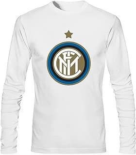 MVYE Men's Inter Milan 6e6 Long Sleeve T Shirt Cotton