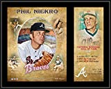 Phil Niekro Atlanta Braves 12' x 15' Hall of Fame Career Profile Sublimated Plaque - MLB Player Plaques and Collages