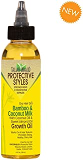 Taliah Waajid Hair Gro Bamboo and Coconut Milk Growth Oil, 4 Ounce