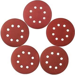Coceca 120pcs Orbit Sander Sanding Discs Sandpaper 5 Inches 8 Hole Hook and Loop Sanding Discs, 24pcs Each 1000 1200 1500 2000 3000 Grits Sandpaper Fit for Random Orbit Sander, Orbital Sander