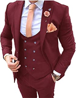Best burgundy prom tux Reviews