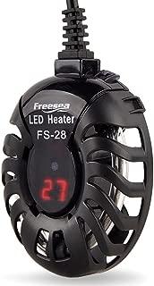 Freesea FS-28 50W Small Aquarium Heater with LED Display for 5-70L(1-20 Gallon) Tank