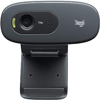 غطاء كاميرا الويب For C270/C270i Desktop Or Laptop Webcam, HD 720p Widescreen, For Video Call And Recording كاميرا ويب عال...