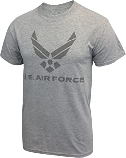Armed Forces Gear Air Force PT Grey Reflective Moisture Wicking Performance T-Shirt