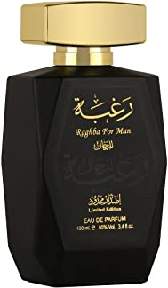 Raghba Perfume by Lattafa for Men , 100ml, Eau de Parfum