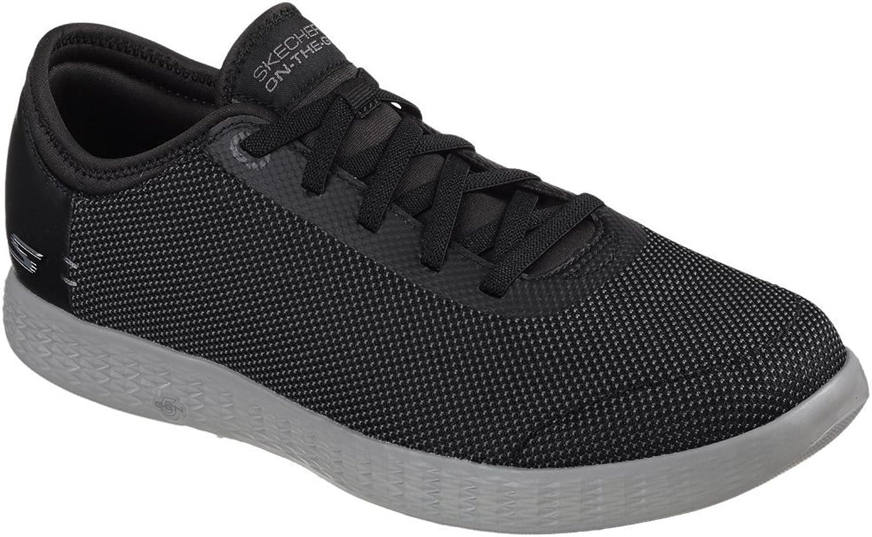 Skechers 2 Tone Mesh shoes - Men's - Black Grey, 10