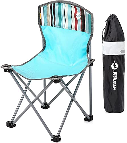 Westfield extérieur Chaise de camping pliant léger et durable extérieur Assise 120kg Capacité de charge, idéal pour le camping, jardin, caravane, voyages, pêche, plage, les barbecues