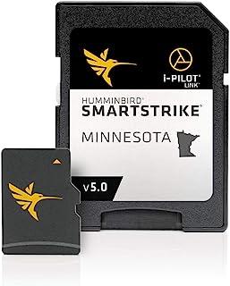 Humminbird 600038-5 SmartStrike Minnesota V5 (Includes Woods/Rainy) Digital GPS Maps Micro Card
