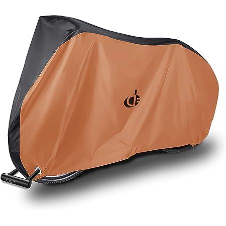 自転車カバー 子供用 キッズ サイクルカバー 防水 厚手 丈夫 撥水加工UVカット風飛び防止 収納袋付 破れにくい 24インチまで対応 Double Elite