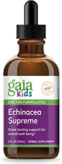 Gaia Herbs, GaiaKids Echinacea Supreme Herbal Drops, Immune Health, Rapid Immune Response Support, Physician Formulated, 2...