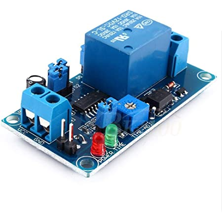 DC 12V Normally Open Time Delay Relay 250V AC Turn on//Turn off Switch Module 1PC