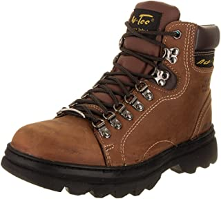 "حذاء عمل Adtec رجالي 1977 6"" Steel Toe Hiker بني"