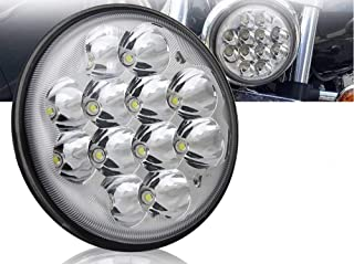 1 Round Led Headlights 5.75, 5 3-4,H5006, H5001 Par46; Spotlight Truck Led Light Replacement Sealed Beam Dyna Chrome